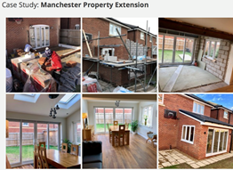 Manchester property extension